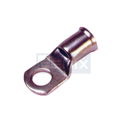 Crimping Type Copper Tubular Cable Terminal Ends Bell Mouth