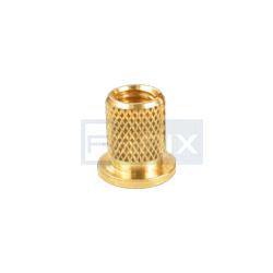 Brass Insert with Collar head