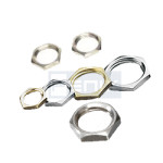 Brass Nickel Plated Lock Nuts