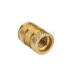 Brass Round Knurled Inserts