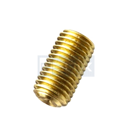 Brass Slotted Grub Screws