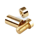 Polished Brass Spacer