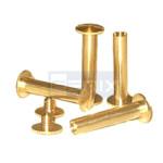 brass book binding screw